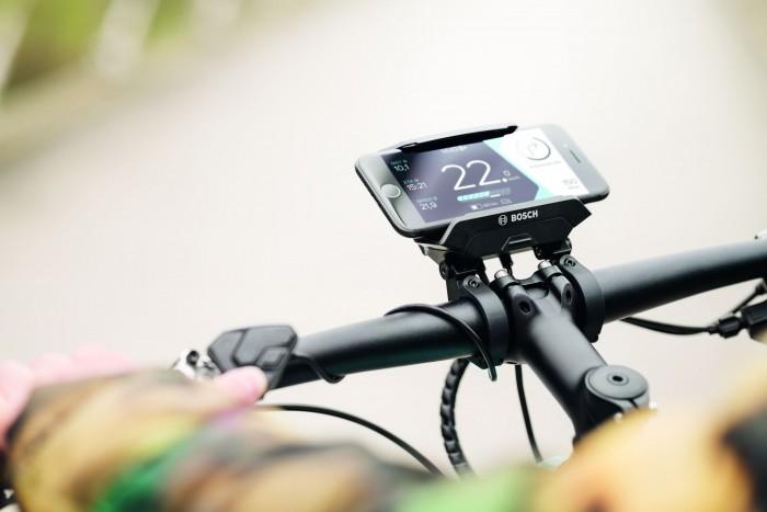 Das Fahrrad ist auch vernetzt. (Bild: Bosch)