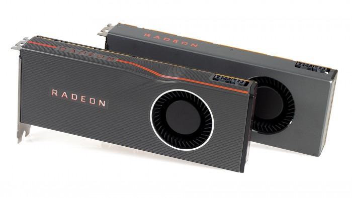 Radeon RX 5700 XT und Radeon RX 5700 (Bild: Marc Sauter/Golem.de)