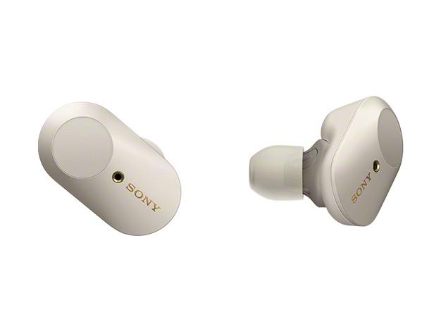 Sonys neuer Kopfhörer WF-100XM3 hat keine Kabel und kommt mit Noise Cancelling. (Bild: Sony)