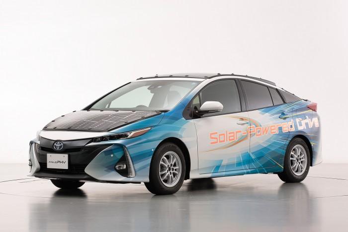 Toyota-Versuchsfahrzeug (Bild: Toyota)