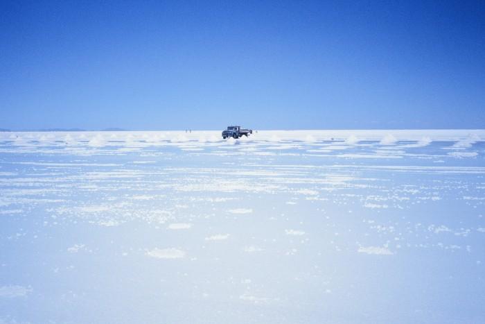 Der Salar de Uyuni gilt mit 10.000 Quadratkilometern als größte Salzpfanne der Welt. (Foto: Friedhelm Greis/Golem.de)
