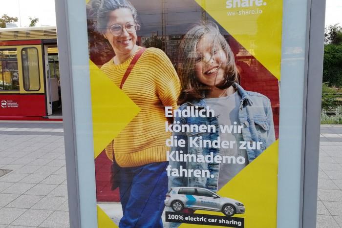 Autokonzerne wie VW vermarkten elektrisches Carsharing als klimafreundliche Mobilität. (Foto: Friedhelm Greis/Golem.de)