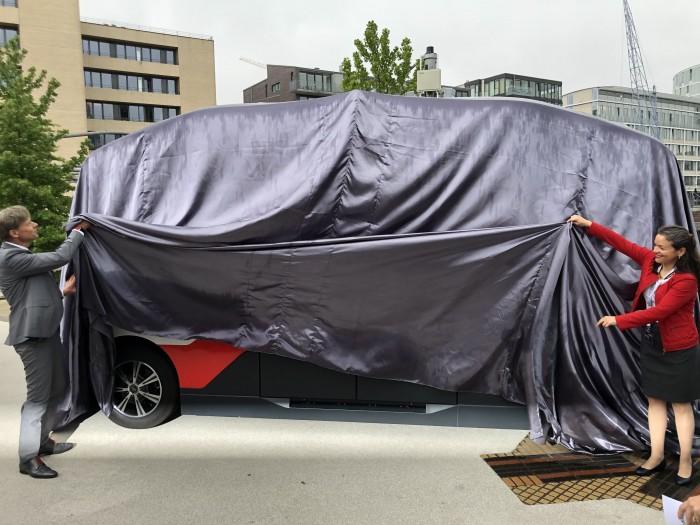 Am 31. Juli 2019 wurde Heat in Hamburg enthüllt. (Bild: Dirk Kunde)