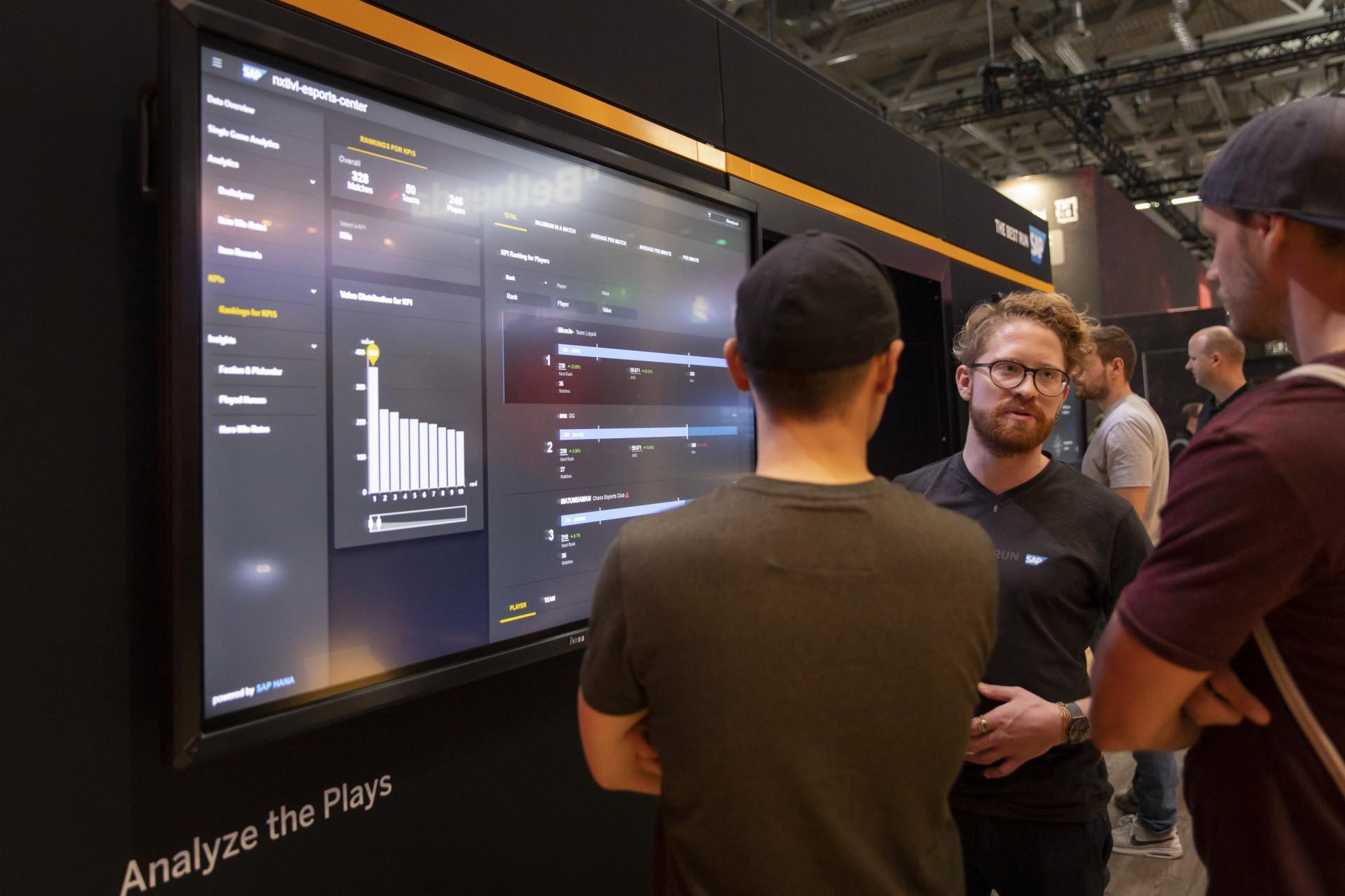 Spielebranche: SAP analysiert E-Sportler -