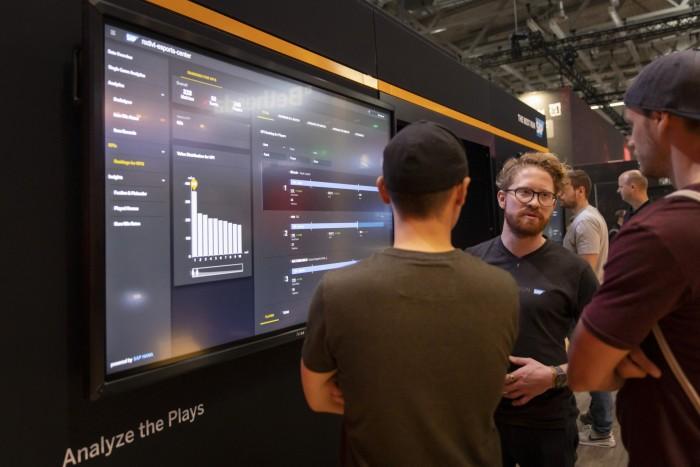 Auf der Gamescom 2019 hat SAP seine Analysewerkzeuge für Dota 2 präsentiert. (Bild: SAP SE)
