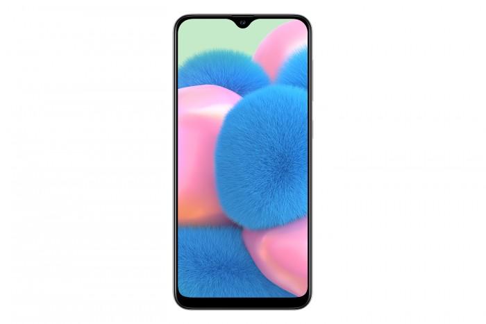 Das Galaxy A30s von Samsung hat einen 6,4 Zoll großen Bildschirm, der nur mit 1.560 x 720 Pixeln auflöst. (Bild: Samsung)
