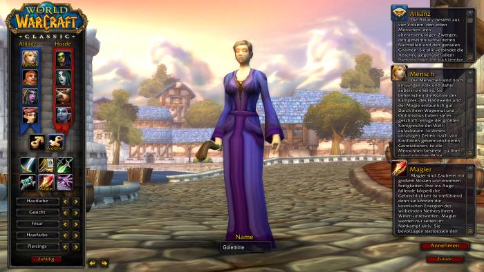 Magier sind in World of Warcraft Classic eine durchaus herausfordernde Klasse. (Bild: Blizzard / Screenshot: Golem.de)