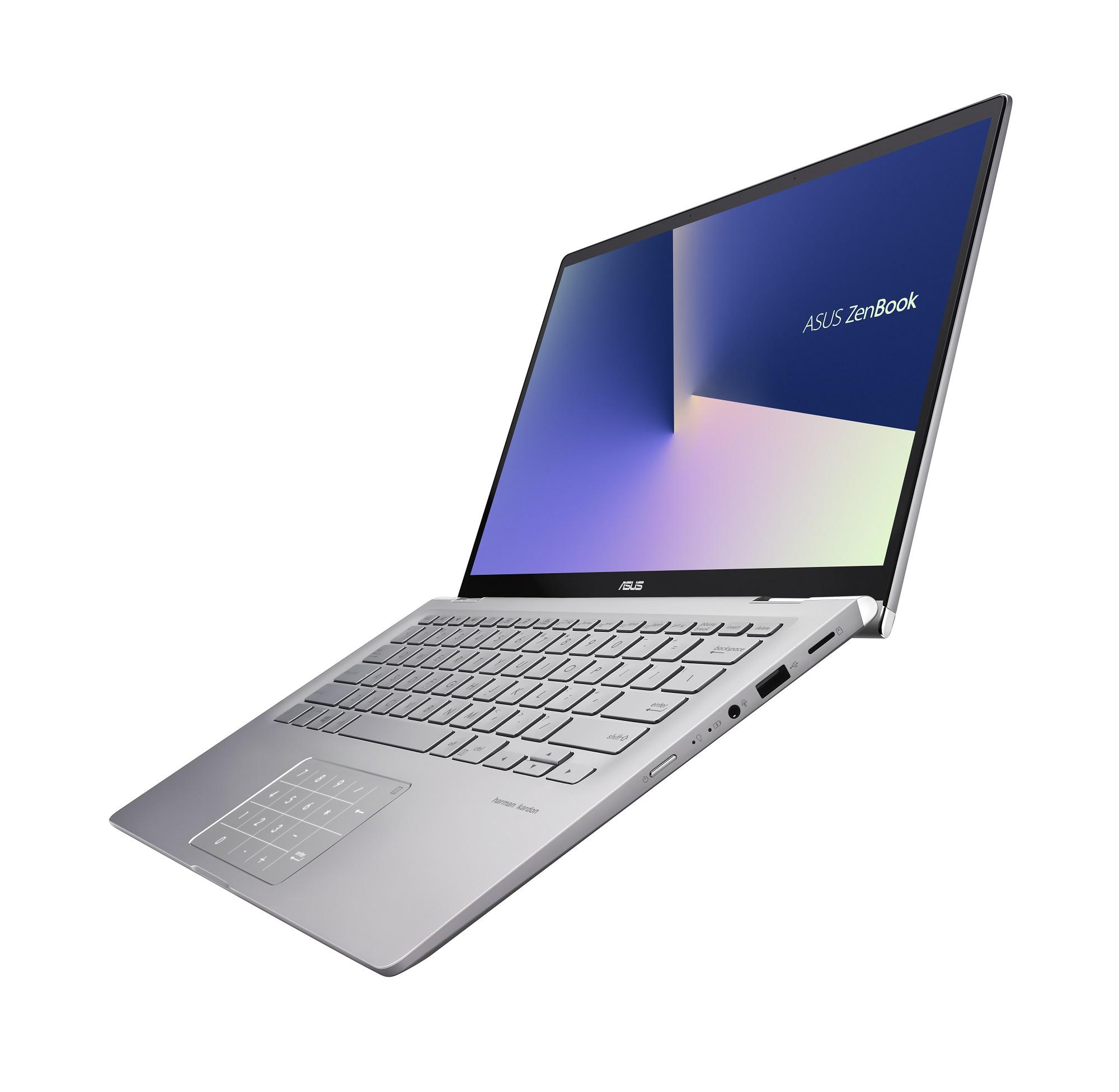 Zenbook Flip 14 (UM462): Das neue Asus-Convertible nutzt eine AMD-Ryzen-CPU - Asus Zenbook Flip 14 (UM462) (Bild: Asus)