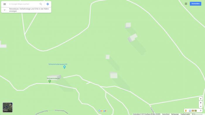 Diese Hochhäuser sind eigentlich Sandsteinfelsen. (Bild: Google Maps/ Screenshot Golem.de