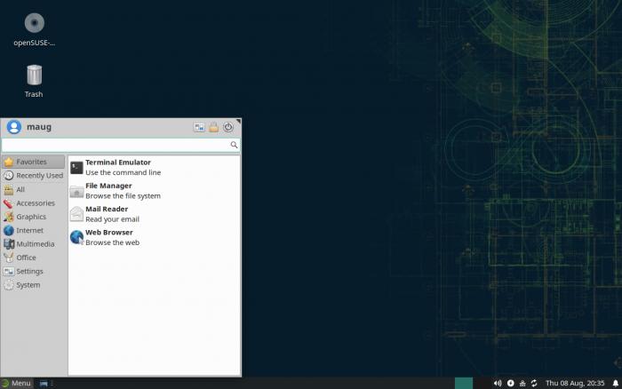 XFCE 4.14 ist erschienen. (Bild: XFCE)