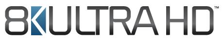 Dieses 8K-Logo soll künftig auf konformen Fernsehern ihre Fähigkeiten anzeigen (Bild: CTA)