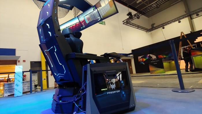 Acer Predator Thronos (Bild: Martin Wolf/Golem.de)