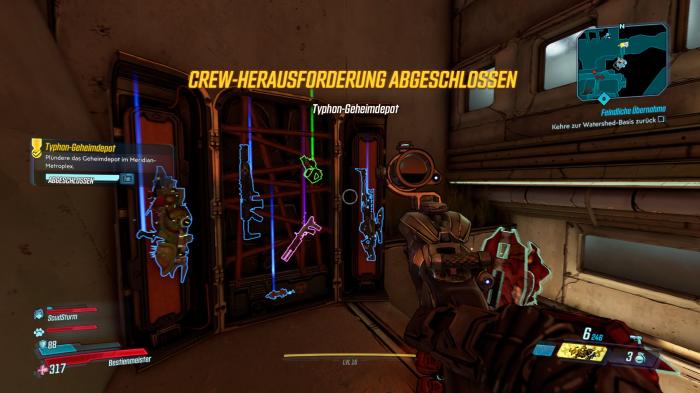 Das nehmen wir gleich mit. (Bild: Gearbox/Screenshot: Golem.de)