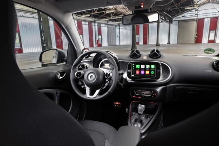 Innenraum des neuen Smarts (Bild: Daimler)