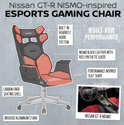 Nissan-Gaming-Stuhl (Bild: Nissan)