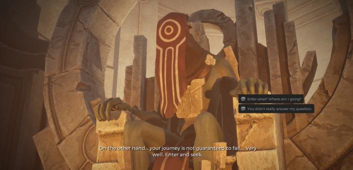 Allerdings beantworten sie keine Fragen, sondern produzieren sie. (Bild: Gunfire Games/Screenshot: Golem.de)
