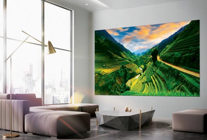 The Wall Luxury von Samsung (Bild: Samsung)