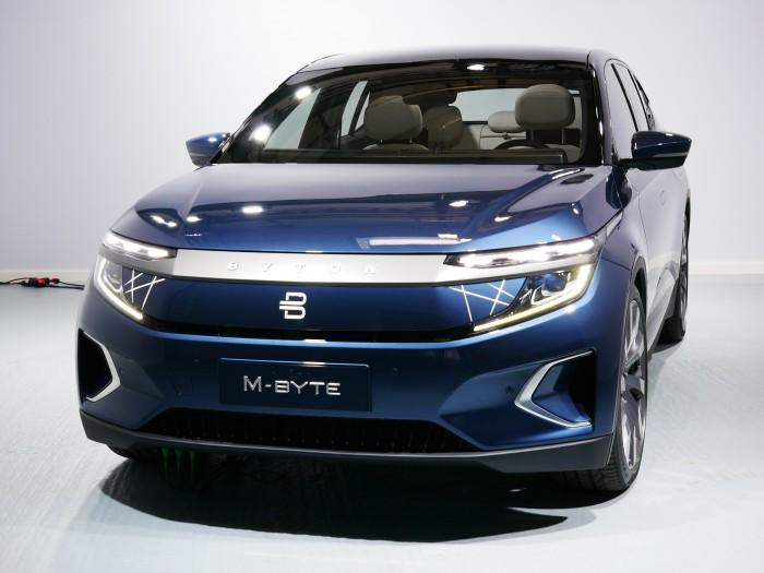 Byton hat sein SUV M-Byte auf der IAA 2019 in Frankfurt präsentiert. (Foto: Dirk Kunde)
