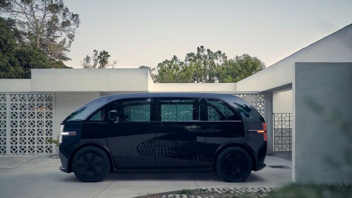 Der elektrische Kleinbus von Canoo ... (Bild: Canoo)