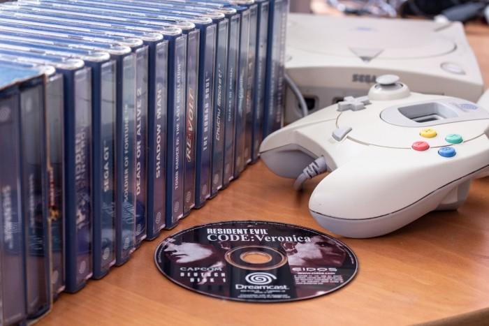 Über 600 Spiele erschienen in der kurzen Lebensspanne der Dreamcast. (Bild: Martin Wolf/Golem.de)