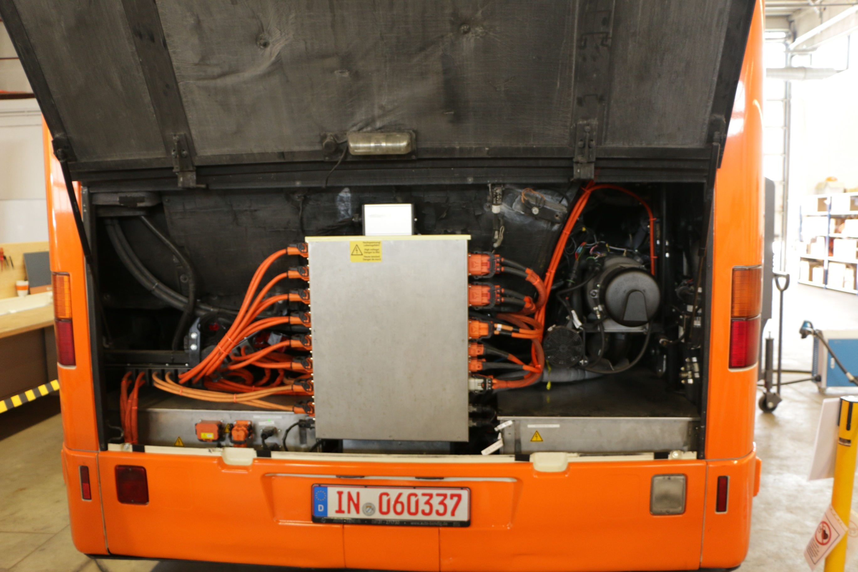 E-Trofit: Der Elektrobus, der sich für einen Diesel hält -