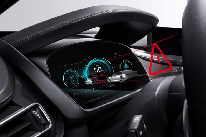 Bosch zeigt auf der IAA 2019 ein Display mit 3D-Effekt. (Foto: Bosch)