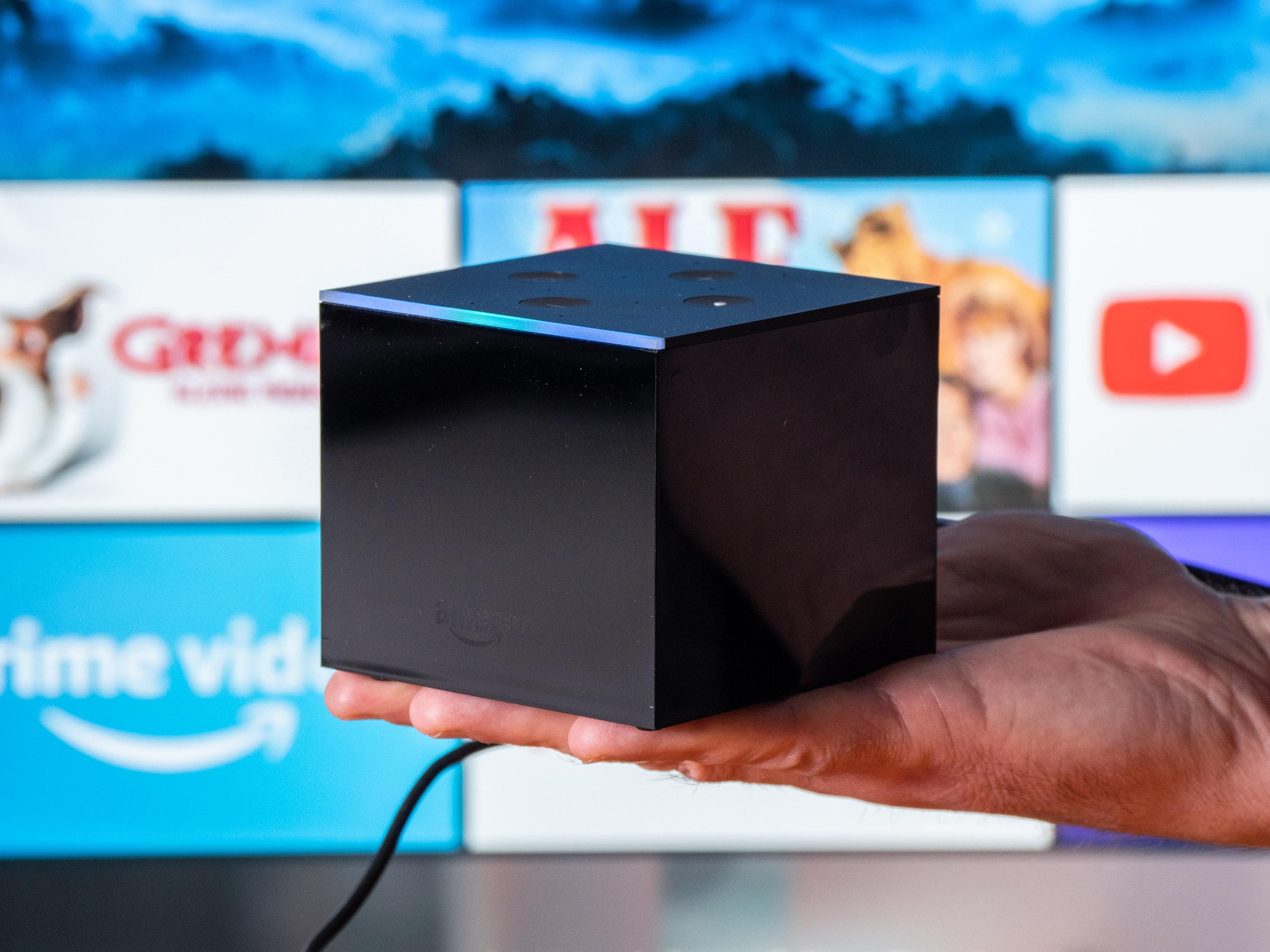 Fire TV Cube im Praxistest: Das beste Fire TV mit fast perfekter Alexa-Sprachsteuerung - Amazons Fire TV Cube (Bild: Martin Wolf/Golem.de)