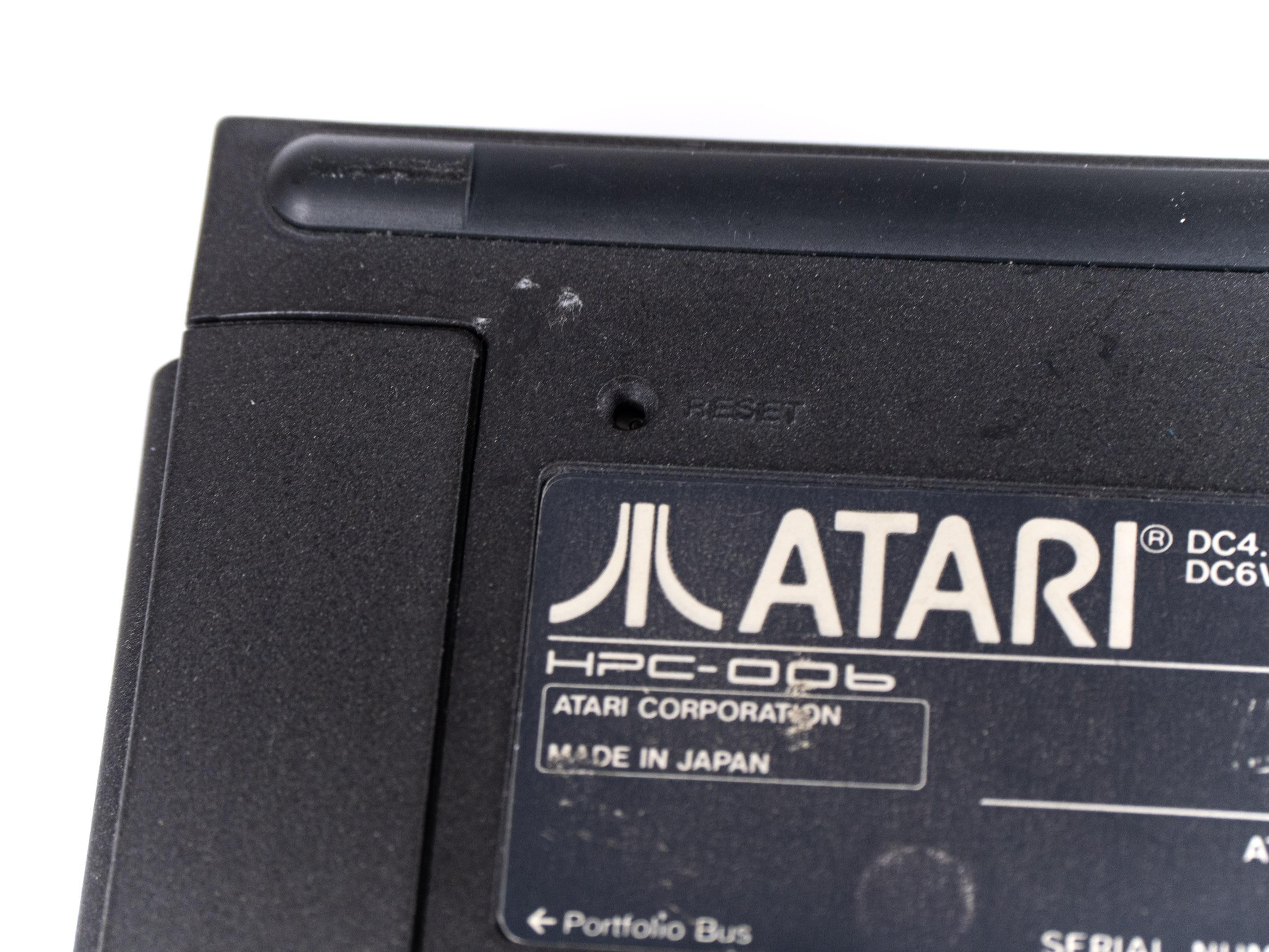 Atari Portfolio im Retrotest: Endlich können wir unterwegs arbeiten! -
