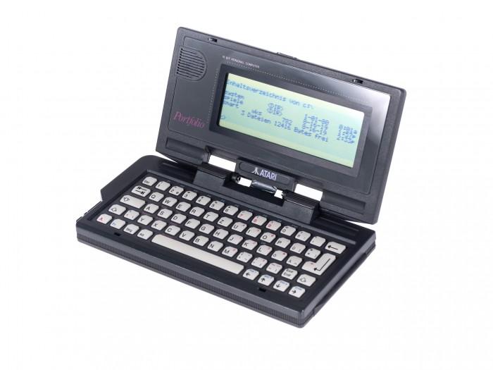 Atari hat den Portfolio im Jahr 1989 vorgestellt. (Bild: Martin Wolf/Golem.de)
