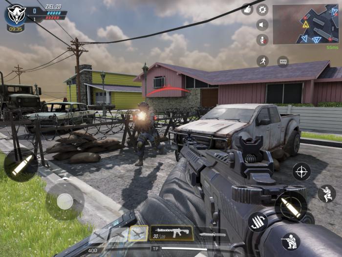 Spieler treten in der Ich-Perspektive an. (Bild: Activision/Screenshot: Golem.de)