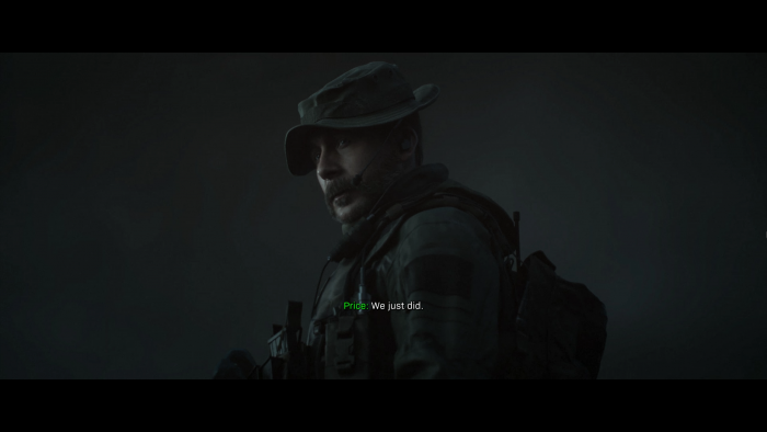 Wieder mit dabei: Captain Price. (Bild: Activision/Screenshot: Golem.de)