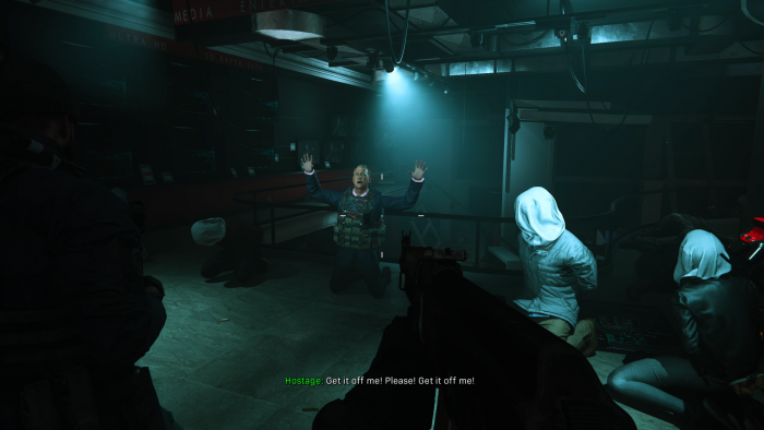 Szenen wie diese prägen unseren Charakter gar nicht - schade. (Bild: Activision/Screenshot: Golem.de)