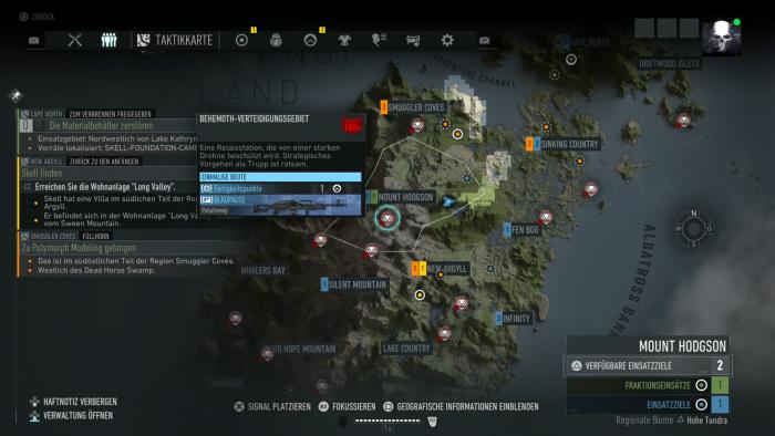 Die Weltkarte zoomt schlecht und ist auch sonst ziemlich unübersichtlich. (Bild: Ubisoft/Screenshot: Golem.de)