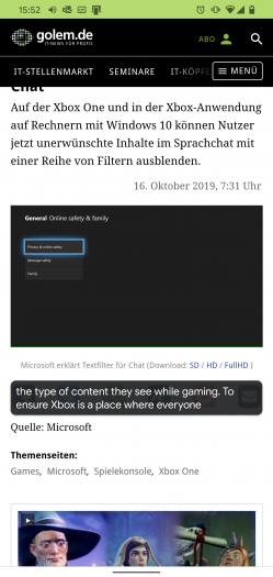 Ein Beispiel für die automatischen Untertitel bei einem englischsprachigen Video auf Golem.de (Screenshot: Golem.de)