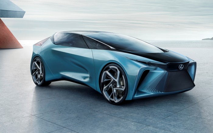 Lexus stellte die Studie LF-30 Electrified Concept auf der Tokyo Motor Show 2019 vor. (Foto: Lexus)