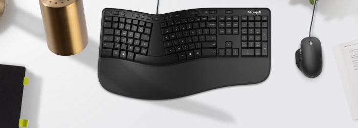 Microsoft Ergonomic Keyboard (Bild: Microsoft)
