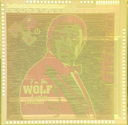 Mr. Wolf löst Probleme mit RISC-V. (Bild: ETH Zürich)