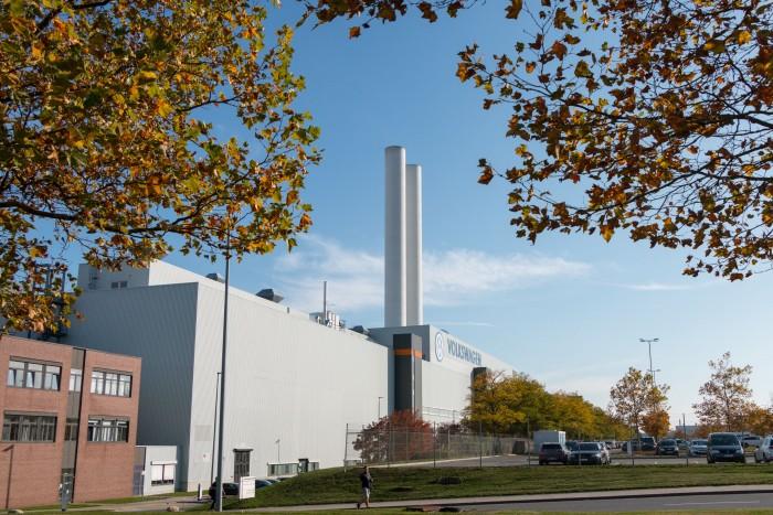 Im Werk in Zwickau will VW bald Elektroautos bauen, darunter den ID.3. (Bild: Werner Pluta/Golem.de)
