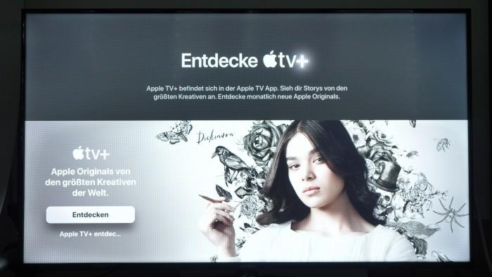 Apple TV+ auf einem Apple TV (Bild: Martin Wolf/Golem.de)