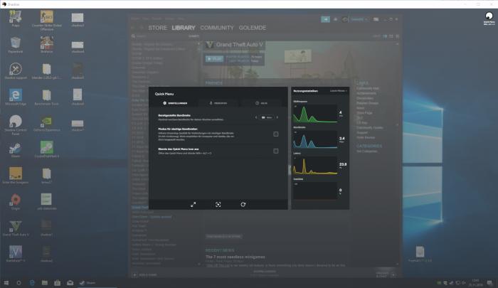 Blade Shadow bietet uns Zugriff auf ein schnelles Windows-PC-System. (Bild: Blade/Screenshot: Golem.de)