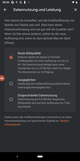 In der App legen wir die Grafik für alle Plattformen gleichzeitig fest. (Bild: Google/Screenshot: Golem.de)