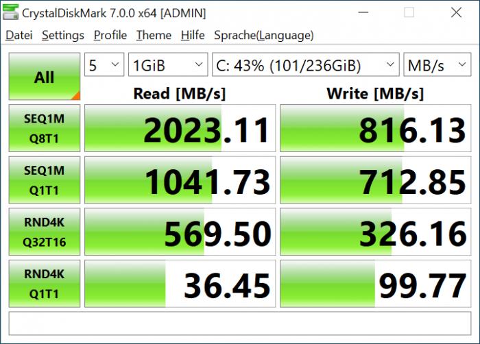 Eine SSD, die schnell genug ist. (Bild: Oliver Nickel/Golem.de)