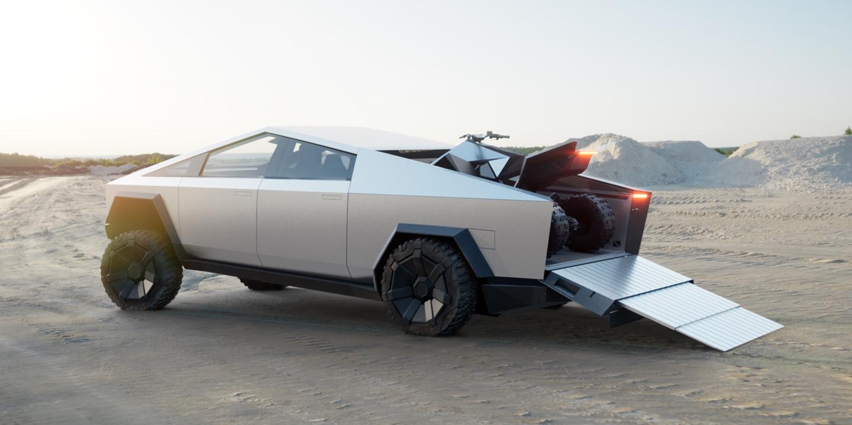 Pickup: Tesla stellt kantigen Cybertruck für 39.900 US-Dollar vor - Tesla Cyber Truck (Bild: Tesla)