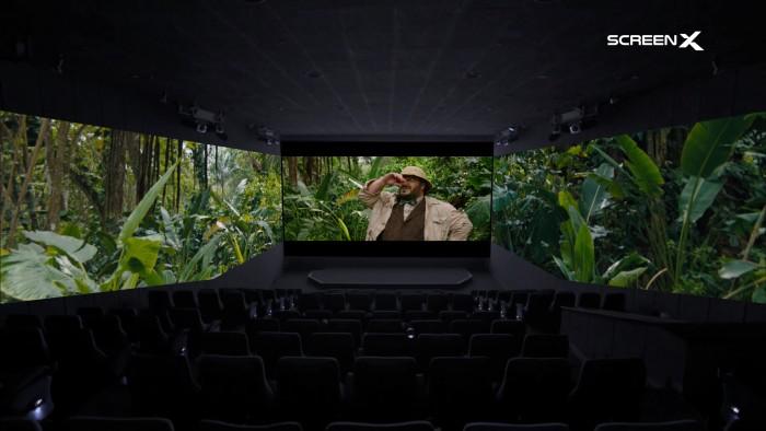 Werbebild mit Jumanji: The Next Level (Bild: Sony Pictures / ScreenX)