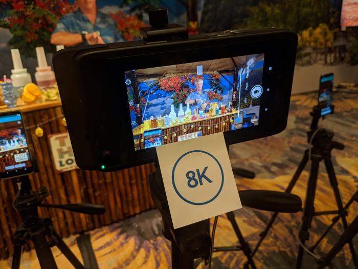8K30-Aufnahme in SDR auf dem Snapdragon 865 (Bild: Marc Sauter/Golem.de)