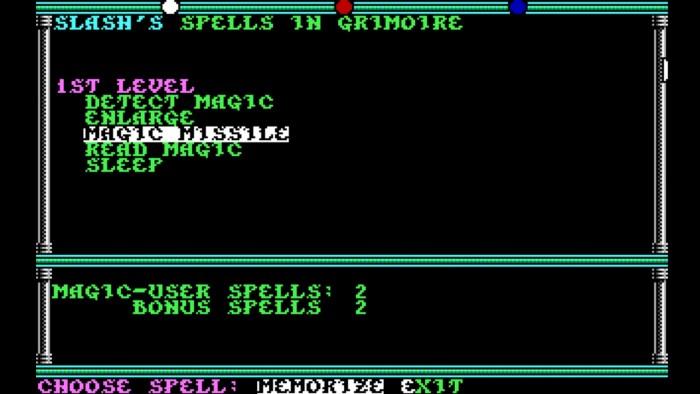 Wer seine Zaubersprüche nicht rechtzeitig vorbereitet, der stößt in den vielen Kämpfen schnell an seine Grenzen. (Bild: SSI/Screenshot: Medienagentur plassma)