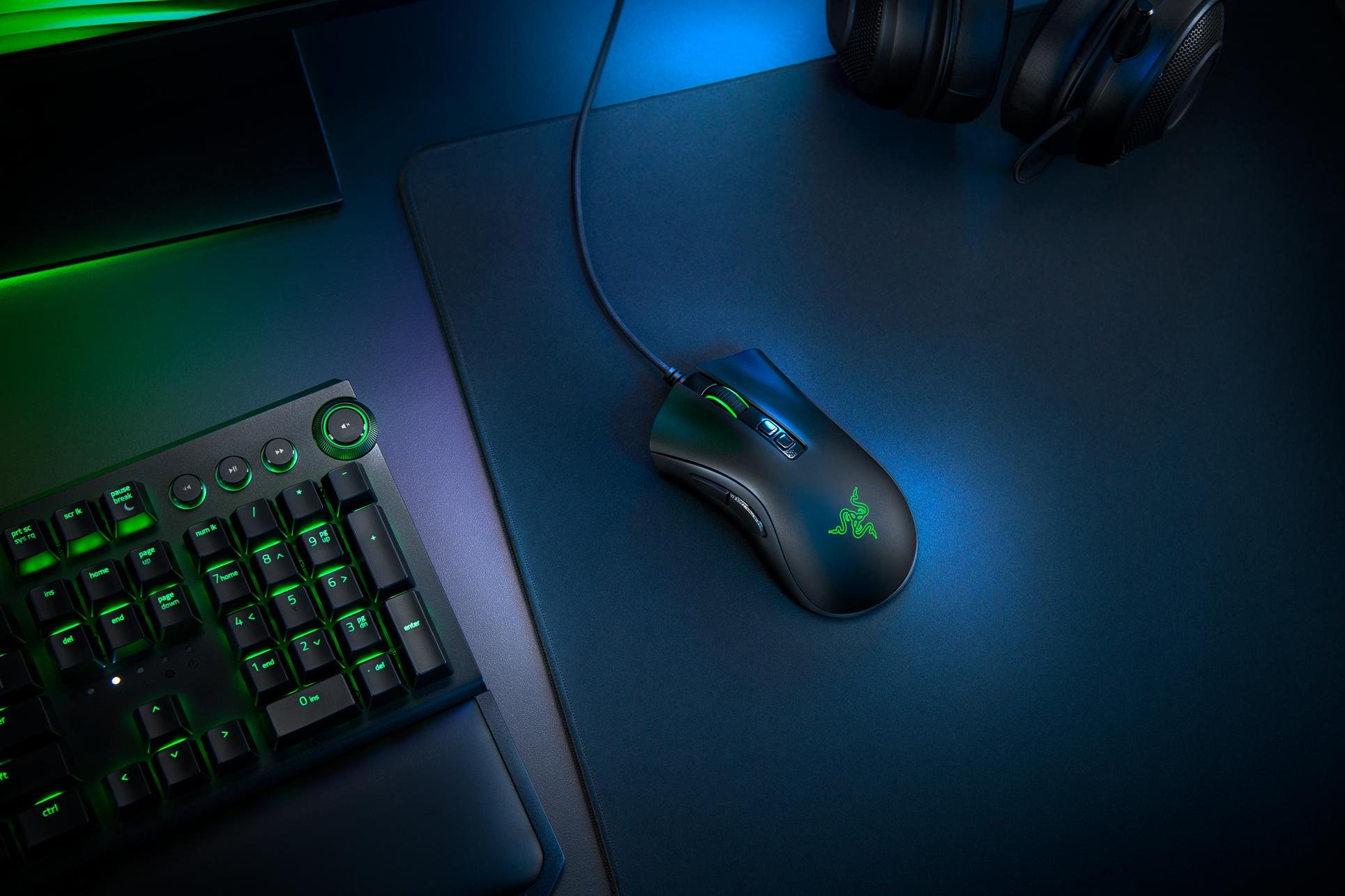 Gaming-Maus: Razer legt die Deathadder neu auf - Deathadder V2 (Bild: Razer)
