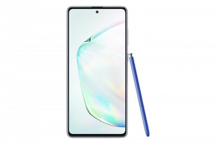 Das Galaxy Note 10 Lite kommt wie das Galaxy Note 10 mit einem Eingabestift. (Bild: Samsung)