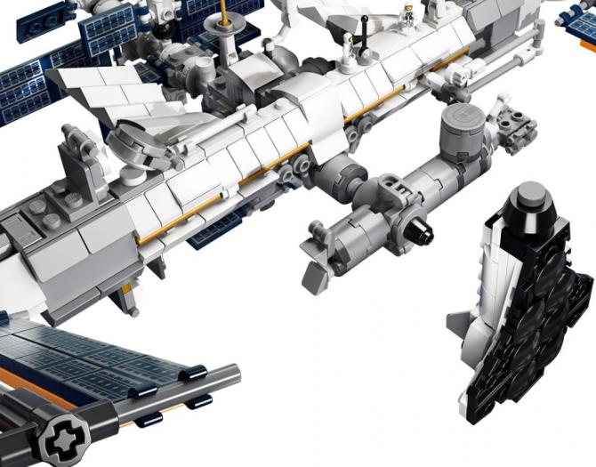 Lego ISS (Bild: Lego)