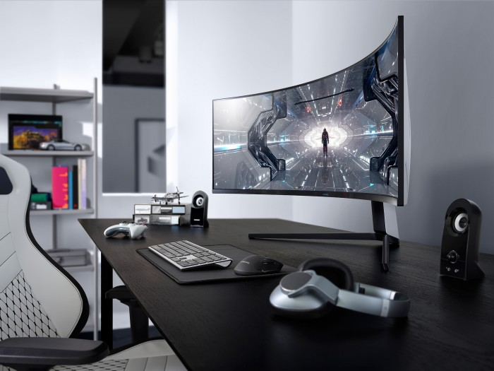 Samsung Odyssey G9 (Bild: Samsung)